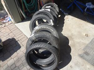 Tires == Lots Of Used Motorcycle Tires-- See List