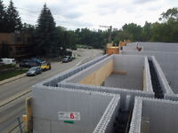 Foundation & Custom Home with ICF (Insulated Concrete Forms)