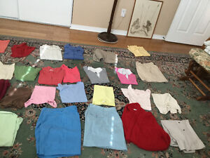 lot of 50 pieces mixed clothing