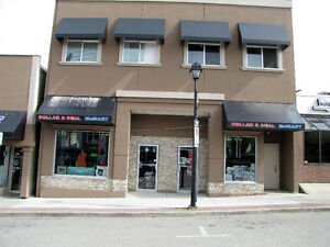 Salmon Arm - High Profile Downtown Core Retail Space 2300 SF