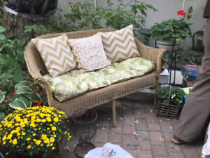 REDUCED! Outdoor wicker furniture set (A250)
