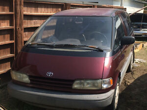 1996  Toyota Previa(super charge edition)Patrs/Parting  out
