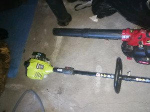 Lawn and garden tools.