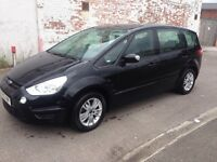2013 13reg Ford S-max 1.6tdci economic Black 7 Seater cheapest Around