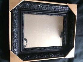 Beautiful black mirror