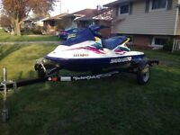 Sea Doo and Trailer for sale