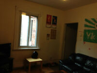 Subletting 1 Bedroom in Large Apartment in McGill Ghetto