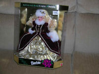 Happy Holidays Barbie / 3 different 40.00 each