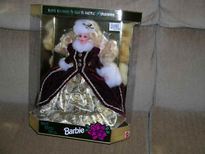 Happy Holidays Barbie Christmas dolls  / 3 different 40.00 each