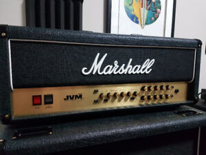 Marshall JVM210 in Excellent Condition ALL New Tubes