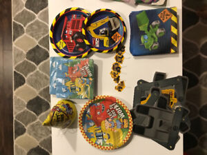 Kids construction birthday party decorations for sale
