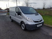 NO VAT 2007 57 VAUXHALL VIVARO 2.0 CDTI 2700,ONE FORMER KEEPER,LONG MOT, SILVER