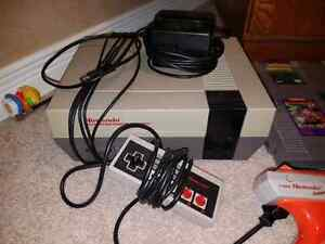 Original Nintendo with Games