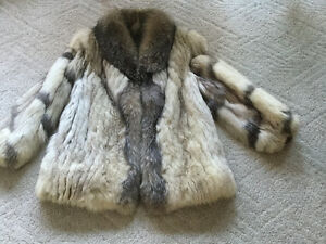 Vintage Fox fur jacket