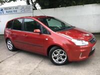 Ford 2008 C-MAX Zetec 2.0 Petrol Automatic MPV in Red