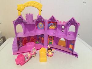 Dora's castle playset