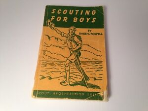 1955 - Scouting for Boys - Vintage, Antique, Rare Book