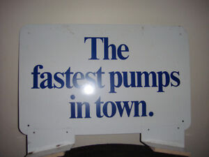 Gulf Gas Pump SIgn Strathcona County Edmonton Area image 6
