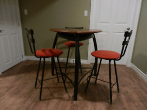 Bistro Table and 3 Chairs