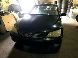 03 Lexus IS300 Automatic 2jz for PARTS!! Black in color