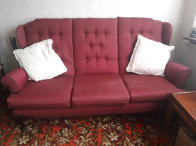 3 Seater high back sofa