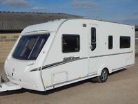 Abbey SPECTRUM 418, 2008, 4 Berth, Fixed Bed, Two Awnings, MOVERS. VGC!