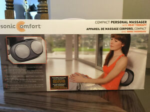 Sonic Comfort Massager with Heat Therapy