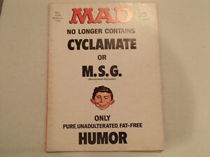 Mad Magazine No. 133 - March 1970 - No Longer Contains CYCLAMATE