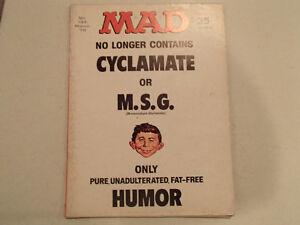 Mad Magazine No. 133 - March 1970 - No Longer Contains CYCLAMATE Sarnia Sarnia Area image 1