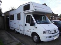 "ELDDIS AUTOQUEST 150, 4 BERTH ""L"" SHAPE LOUNGE, 2 OWNERS"