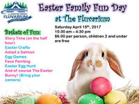 The Fluvarium's Easter Family Fun Day