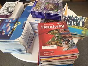 American Headway+Focus on Grammar+other books 4 sale (Fr.+Eng.)