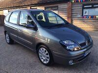 Renault Megane scenic dti mpv turbo diesel new mot cheap family car may px swap