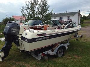 boat motor &trailor
