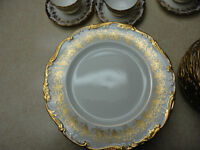 "Coalport Bone China Set Made In England ""Hazelton"" Pattern"