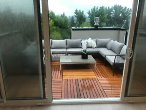 Exotic Hardwood deck/condo tiles - Yellow Balau Bangkirai