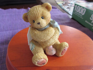 Cherised Teddy figurine - Diana  Perfect little baby gift.