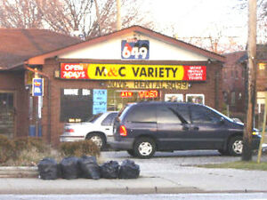 High Traffic Area Former Variety Store