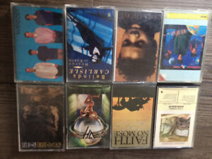 Cassettes all sorts of music