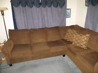 LARGE SECTIONAL WITH HIDE-A-BED