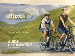 Système de roue électrique BionX, Bion X.