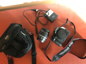 Canon EOS Rebel T2i (EOS 550D) +lens, battery & charger, carrier