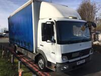 Mercedes Atego 816 7.5T 20ft Curtainsider With Tail Lift, 1 Owner, Very Clean