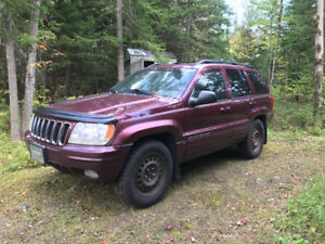 2001 Jeep Grand Cherokee Cuir VUS
