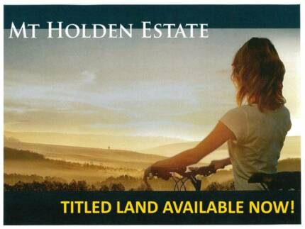 TITLED LAND READY TO BUILD YOUR DREAM HOME ON.  GET IN QUICK!!!!!