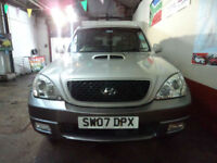 Hyundai Terracan 2.9CRTD Limited STUNNING CONDITION ZERO DEPO FINANCE AVAILABLE