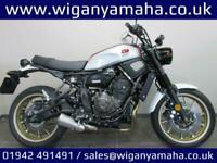 YAMAHA XSR700 X-TRIBUTE, 20 REG 98 MILES, LOW MILEAGE EX-DEMONSTRATOR...