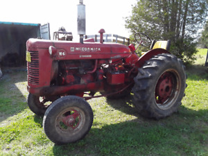 W6 International Tractor For Sale