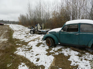 1969 Volkswagen Beetle/and other parts