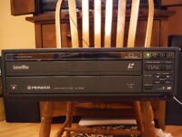 PIONEER LaserDisc/Laservision Player For Sale